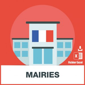 Base adresses emails de mairies