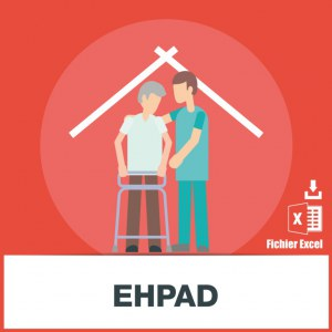 Base d'adresses emails EHPAD