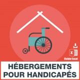 Emails foyers hébergement handicapés