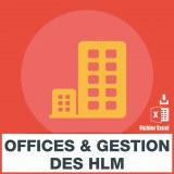 Emails des offices et gestion HLM