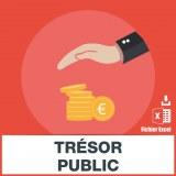 E-mails impôts trésor public