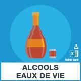 E-mails alcool eaux de vie