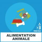 E-mails alimentation animale
