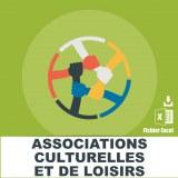 Emails associations culturelles loisirs
