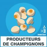 E-mails des producteurs de champignons