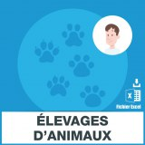 Adresses emails elevage animaux
