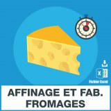 Emails affinage fabrication fromages