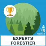 Adresses emails experts forestiers