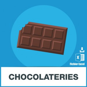 E-mails confiseries et chocolateries