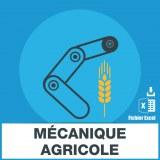 Adresse emails de mécanique agricole