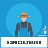 Base d'adresses emails d'agriculteurs