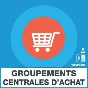 E-mails groupements centrales achat