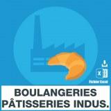 Emails boulangeries industrielles