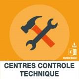 Emails centres controle technique