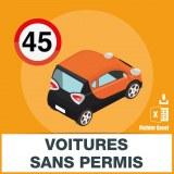 Base e-mails voitures sans permis