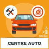 Adresse e-mail centres autos et stations d'entretien rapide