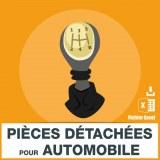 E-mails pièces détachées automobile