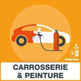 Base d'adresses emails de carrossiers