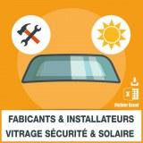 Emails de vitrage sécurité protection solaire
