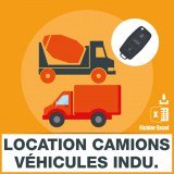 E-mails location camions vehicules industriels
