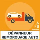 Emails de dépanneurs et remorqueurs automobiles