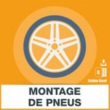 Emails stations montage de pneus