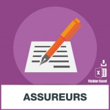 Base d'adresses emails d'assurances