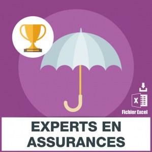 Emails experts en assurances