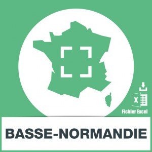 Adresses emails Basse-Normandie