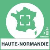 Base adresses emails Haute-Normandie