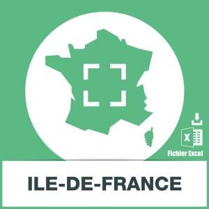 Adresses emails Ile-de-France
