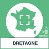 Base adresses e-mails Bretagne