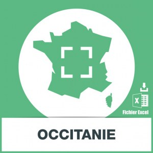 Base adresses emails Occitanie