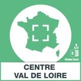 Base e-mails Centre Val de Loire