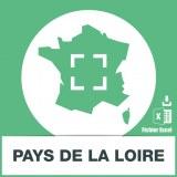 Adresses e-mails Pays de la Loire