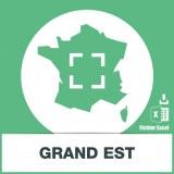 Base adresses emails Grand Est