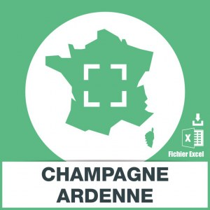 Adresses e-mails Champagne-Ardenne