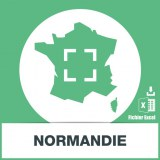 Base adresses emails Normandie