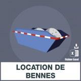 Emails location de bennes