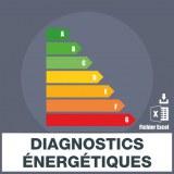 Emails des diagnostics énergétiques
