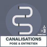 Adresses e-mails canalisations