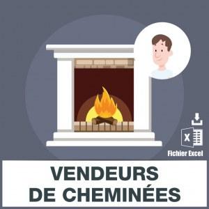 Emails des vendeurs de cheminées