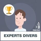 Adresses emails des experts divers