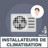Emails installateurs de climatisation