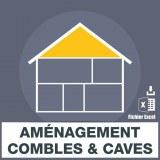 E-mails aménagement de combles et caves