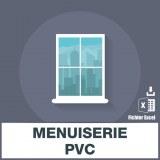 Adresses emails de menuiserie PVC