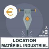 Emails location matériel industriel