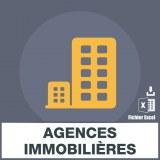 Adresses emails agences immobilières