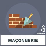 Base adresses emails maconnerie