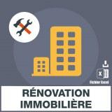 Emails de rénovation immobilière